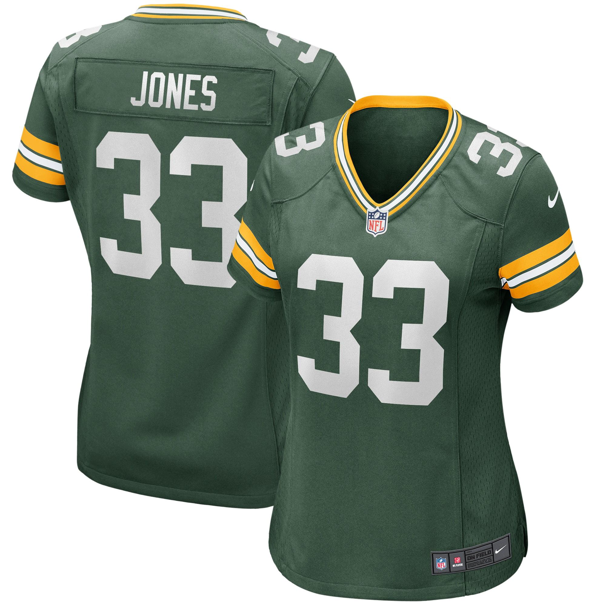 Aaron Jones Green Bay Packers Nike Women S Game Jersey Green Walmart Com Walmart Com