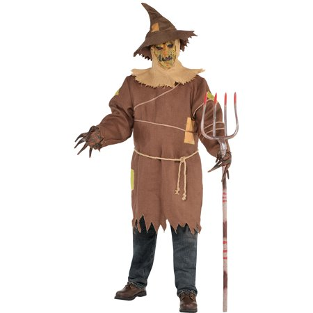 Scary Halloween Costumes You Can Make Yourself (Scary Scarecrow Halloween Costume for Adults, Plus Size, with)