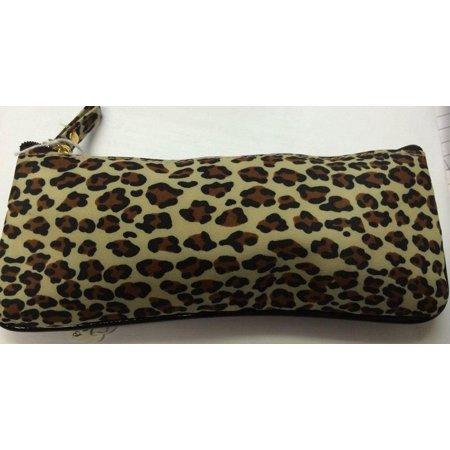 Joan Rivers Beauty cosmetic bag Leopard design (Leopard Cosmetic)