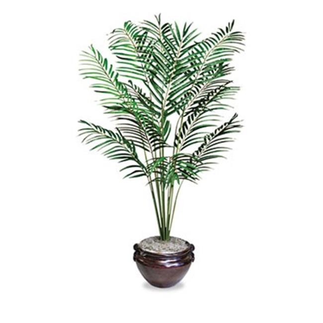 Glolite Nudell, Llc T7786 Artificial Areca Palm Tree, 6-ft.  Overall Height
