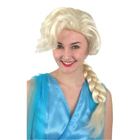 Banana Costumes A-04-011-001 Ice Princess Wig, Blonde - image 1 de 1