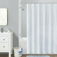 Your Zone Zodiac Glow in the Dark Shower Curtain, 1 Each
