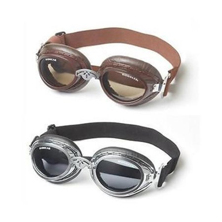 Sidecar Cover - Doggles DGBIMD-18 Sidecar Series Sunglasses for Dogs, Silver Chrome