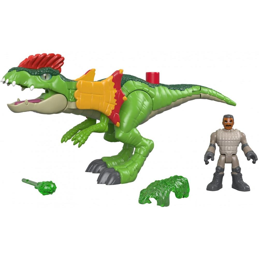 Imaginext Jurassic World Dilophosaurus & Agent