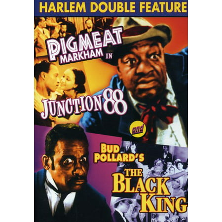 Junction 88 / The Black King: Double Feature (DVD)
