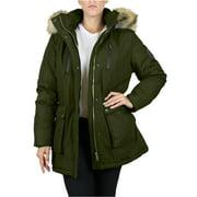 Women's Heavyweight Parka Jacket With Detachable Hood
