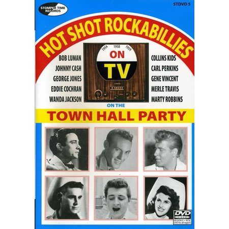 Hot Shot Rockabillies on the Town Hall Party (DVD)