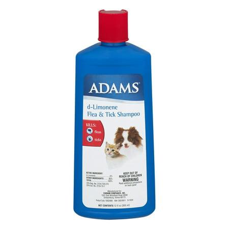 Adams D Limonene Flea And Tick Killing Shampoo And Coat