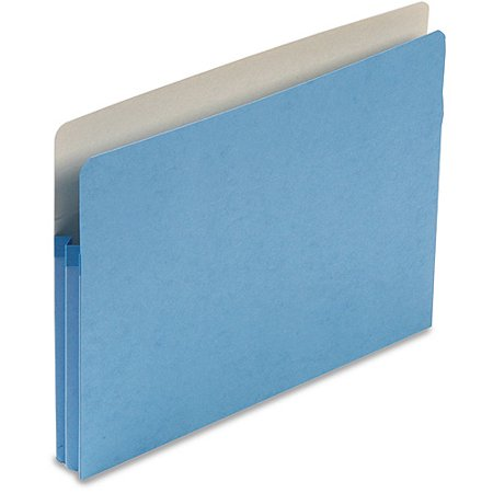 Smead 1 3/4 Inch Expansion Colored File Pocket, Straight Tab, -