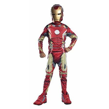Costume Avengers 2 Age of Ultron Child's Iron Man Mark 43 Costume, Medium, Rubie's Costume Avengers 2 Age of Ultron Child's Iron Man Mark 43 Costume, Medium By Rubie's (Iron Man Mark 2 Costume)