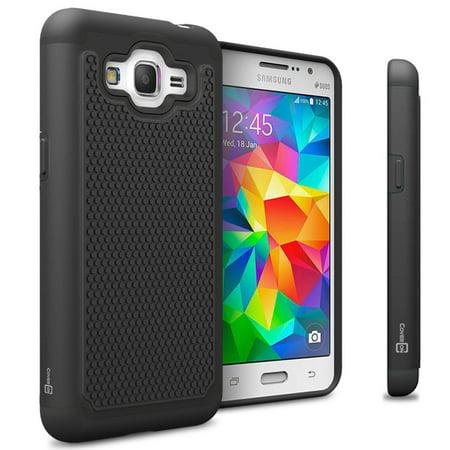 timeless design e1b66 6a14d CoverON Samsung Galaxy J2 Prime / Grand Prime Plus Case, HexaGuard Series  Hard Phone Cover