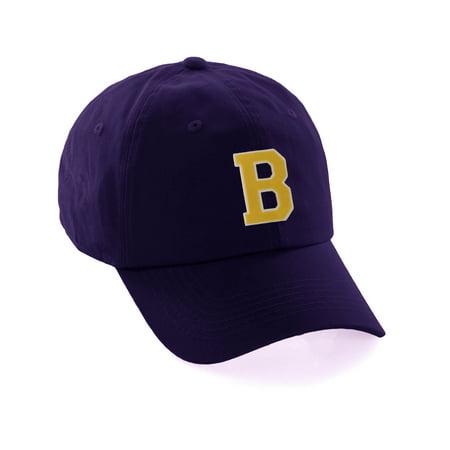 8b801288dce Custom Dad Hat A-Z Initial Raised Letters Classic Baseball Cap ...