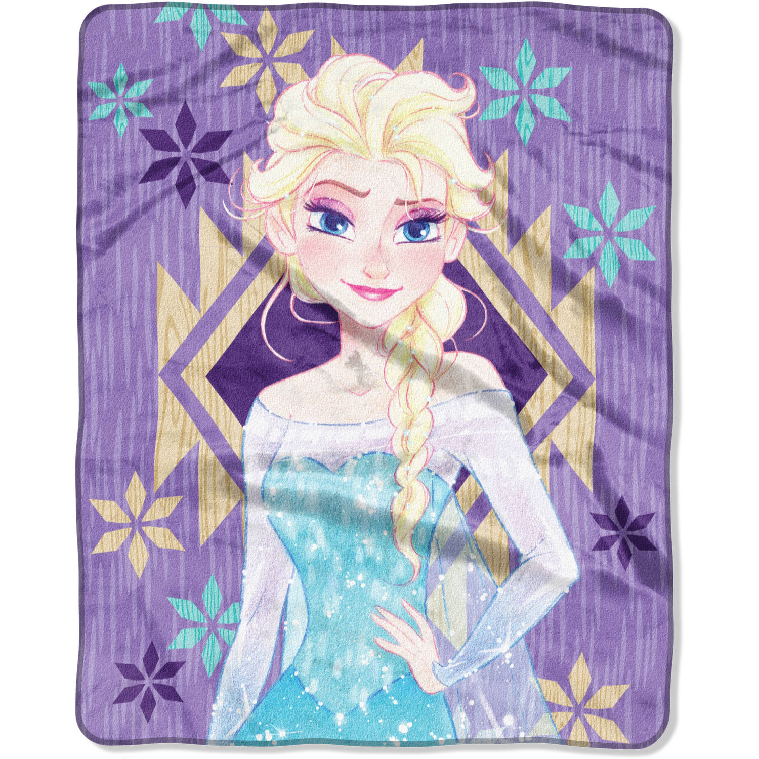 "Disney Frozen ""Driftwood"" 40"" x 50"" Silk Touch Throw"