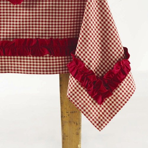 TAG Chalet Woodlands Gingham Tablecloth