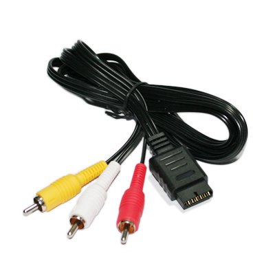 2-pack RCA Audio/Video Cable for Sony Playstation PS2/PS3