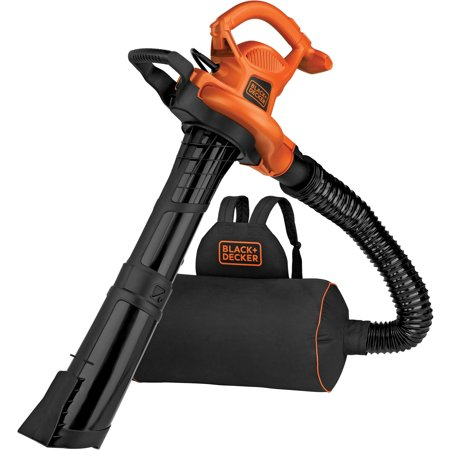 BLACK+DECKER BEBL7000 3-N-1 VACPACK 12 Amp Leaf Blower, Vacuum, and Mulcher