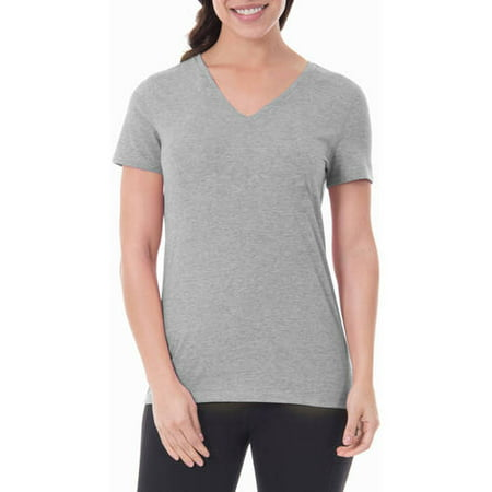 Womens Dri Fit Shirt - Athletic Works Women's Core Active V-neck T-Shirt