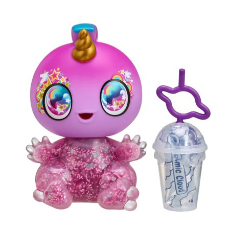 Goo Goo Galaxy Single Doll Pack, Yumi Unicorn - 5.5 inch Small Doll with Squeezer belly and DIY Slime activity