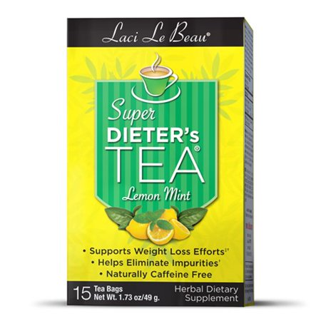 - Laci Le Beau Super Dieter's Tea Lemon Mint 15 Countch