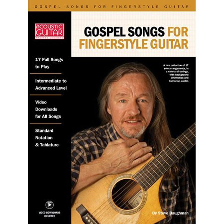 Beginning Fingerstyle Guitar - Gospel Songs for Fingerstyle Guitar: Acoustic Guitar Private Lessons Series (Paperback)