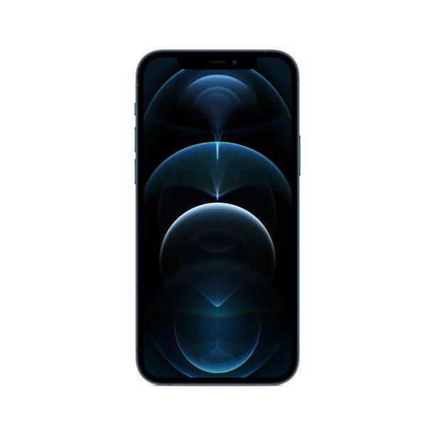 Straight Talk Apple iPhone 12 Pro, 128GB, Pacific Blue - Prepaid Smartphone