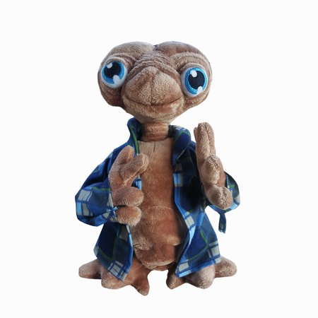 E T  The Extra Terrestrial Flannel Robe Plush By Universal Studios Hollywood