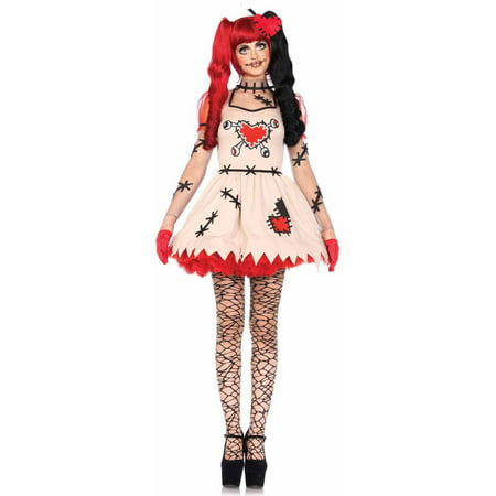Leg Avenue 2-Piece Voodoo Cutie Adult Halloween Costume - Voodoo Costume
