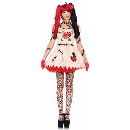 Voodoo Doctor Costume (Leg Avenue 2-Piece Voodoo Cutie Adult Halloween)