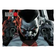 Bloodshot Guns Drawn (Front Back Print) Poly 20X28 Pillow Case White One Size