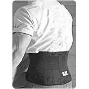 Sportaid Back Belt Of 6 Inch Durafoam Support With Suspenders, Black With Hips Size: 26-36 Inches, X-Small - 1 Ea