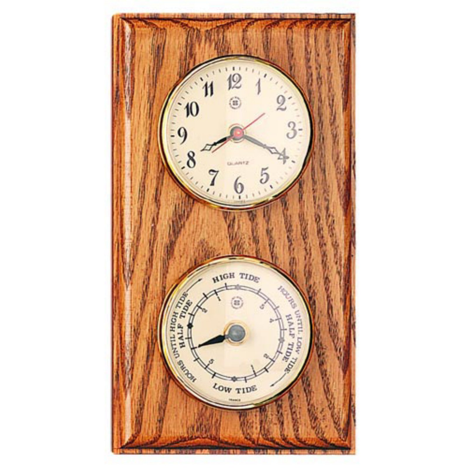 Bey Berk Parkstone Tide Wall Clock - 6 Inches Wide