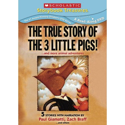 The True Story Of The Three Little Pigs!... And More Animal Adventures (Full Frame)