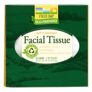 Field Day Facial Tissues, White, 85 Sheets/Box