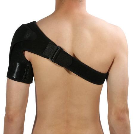 Ejoyous Support d'épaule avec coussinet de pression Support d'épaule respirant pour manchette en rotator - image 4 de 13