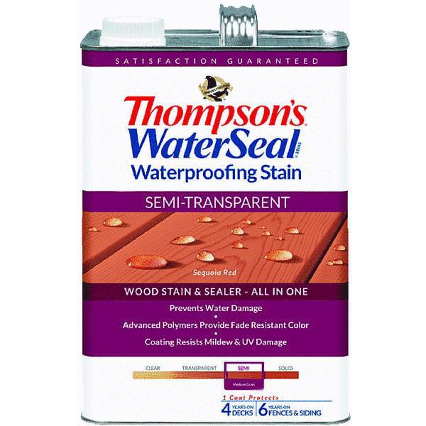 Thompsons WaterSeal Semi-Transparent Waterproofing Stain
