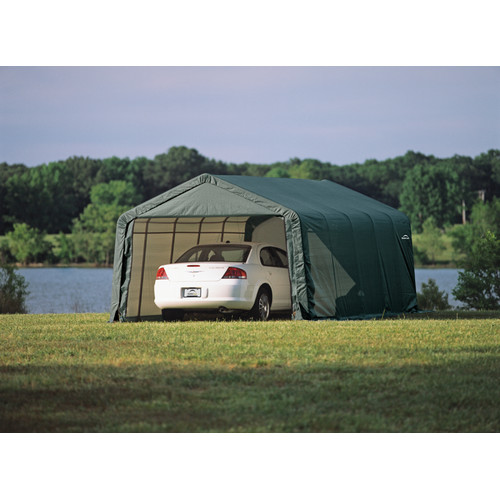 Shelterlogic 13' x 20' x 10' Peak Style Carport Shelter
