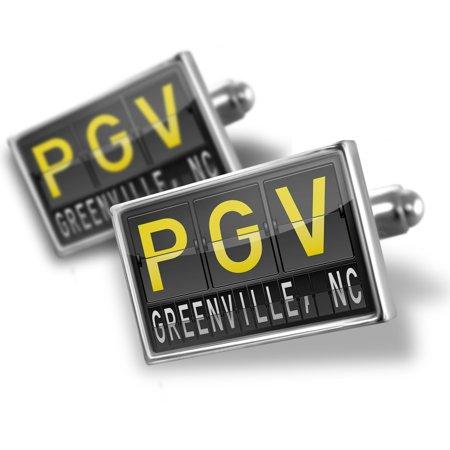 Cufflinks PGV Airport Code for Greenville, NC - - Halloween Greenville Nc