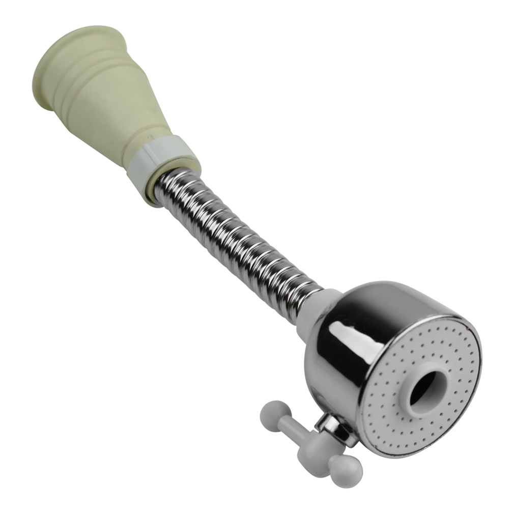 Evelots Flexible Sink Faucet Sprayer Attachment