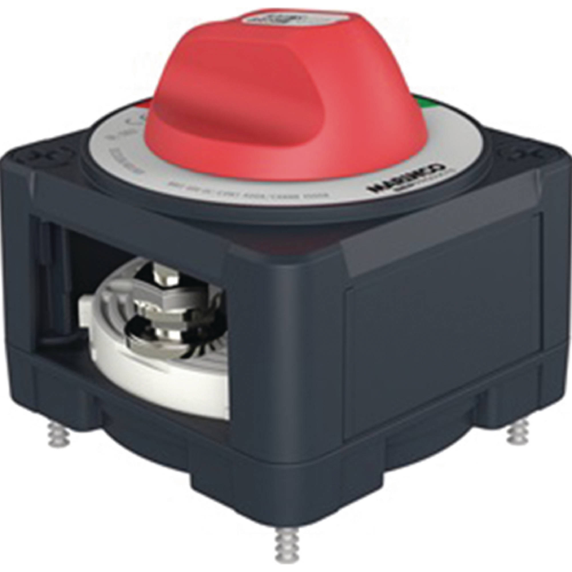 Marinco Pro Installer 400A EZ-Mount Battery Selector Switch (1-2-Both-Off)