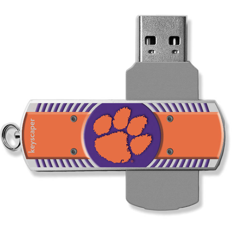 Clemson Tigers USB 16GB Flash Drive