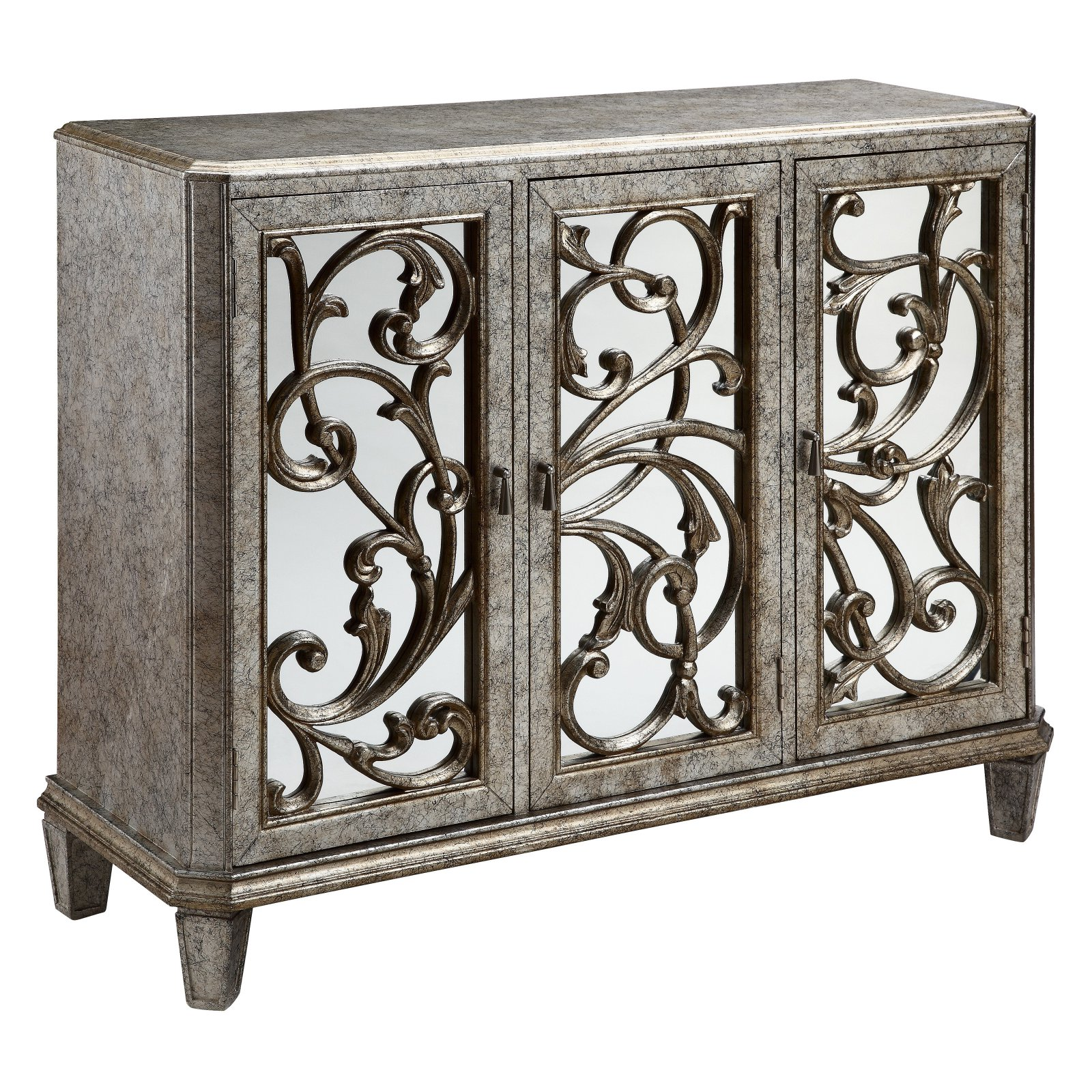 Stein World Leslie 3-Door Cabinet