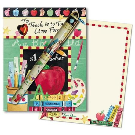 Match Designs - Lissom Design 25108 Match Book - No.1 Teacher