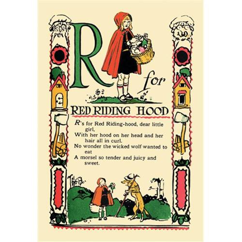 Buy Enlarge 0-587-07438-8P20x30 R for Red Riding Hood- Paper Size P20x30