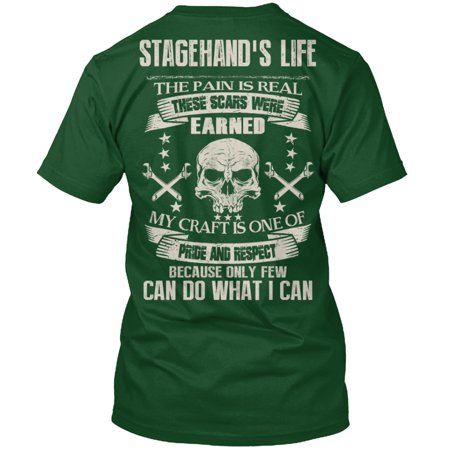 hanes stagehand pride and respect hanes tagless tee t shirt