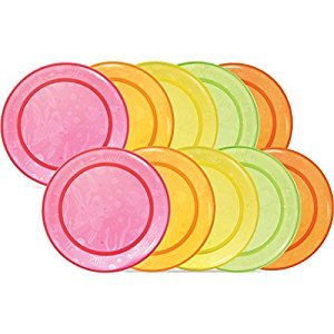 Munchkin 10 Pack Multi Plate, Colors May Vary by Munchkin