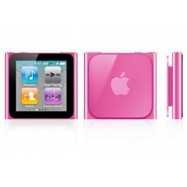 Apple iPod Nano 6th Generation 8GB Pink- No Retail Packaging
