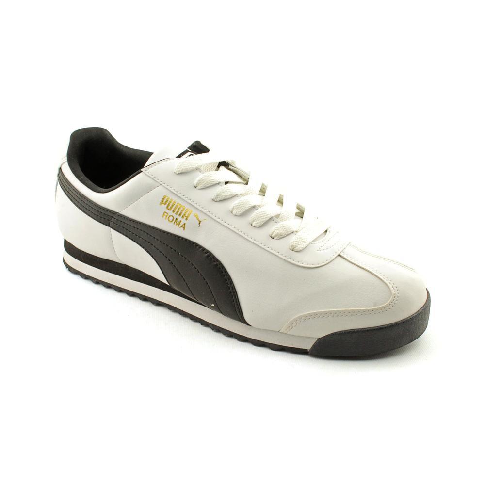 Puma Roma Basic Men Round Toe Synthetic White Walking Shoe by Puma