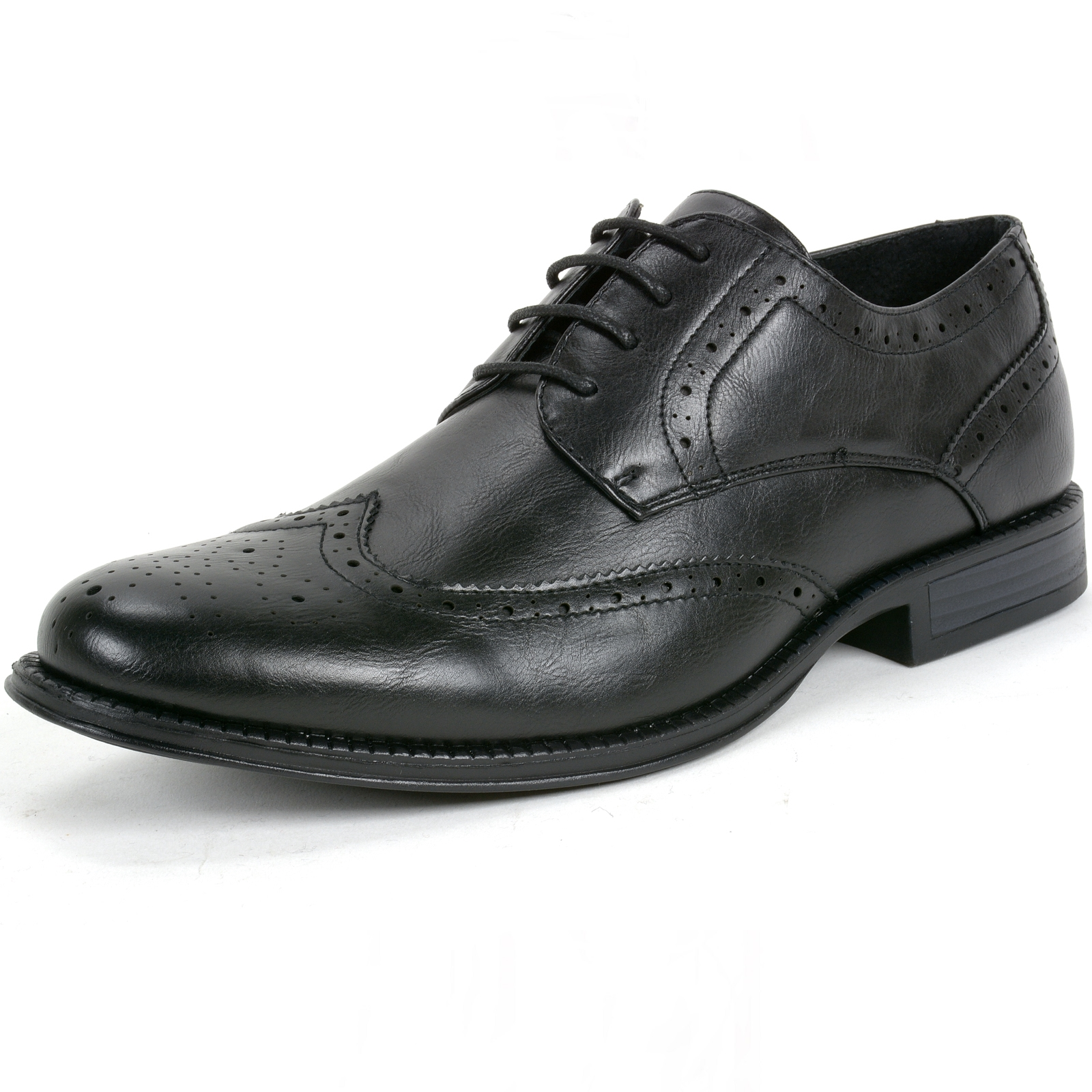 Alpine Swiss Zurich Men's Oxfords Brogue Medallion Wing Tip Lace Up Dress Shoes