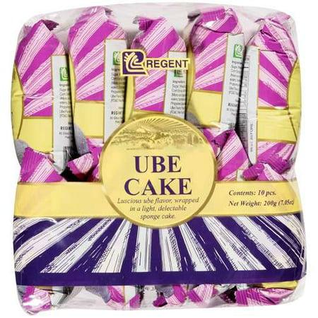 (2 Pack) Regent Ube Sponge Cake, 10 ct](Frozen Cake Walmart)