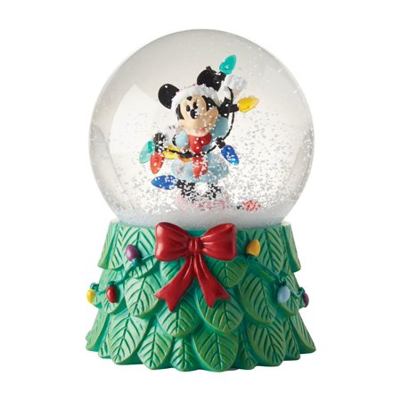 Department 56 Disney 4057297 Minnie With Lights Snow Globe - Halloween Snow Globe Song